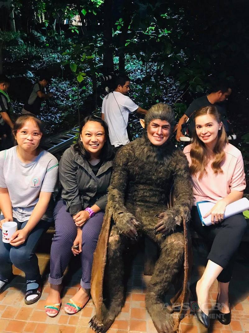Behind-The-Scenes-Photos: Hiwaga ng Kambat - Episode 14